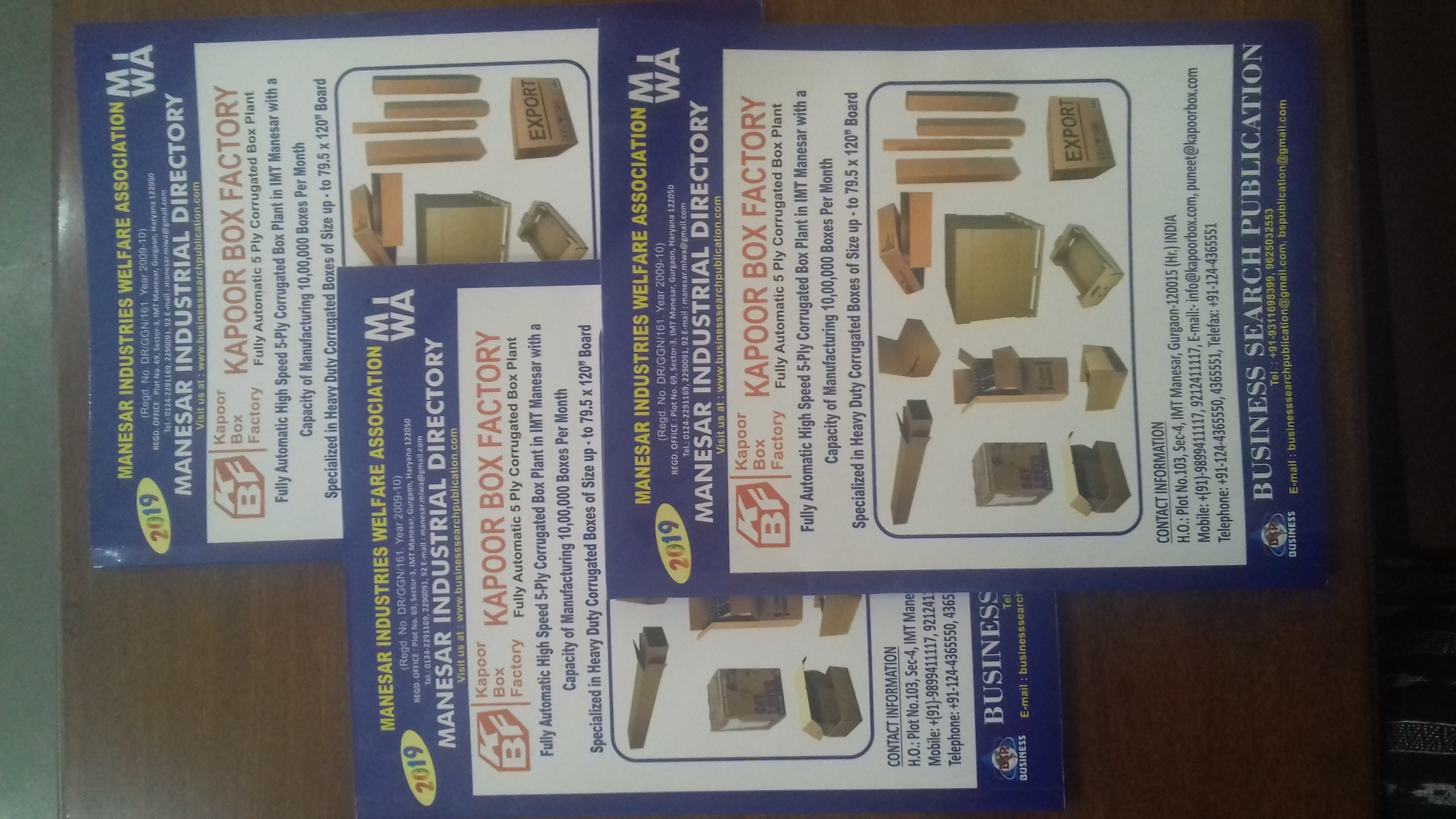 Directory   Manesar Industries Welfare Association